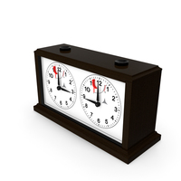 Wooden Mechanical Chess Clock Generic PNG & PSD Images