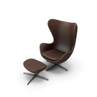 Egg Lounge Chair Stylized PNG & PSD Images