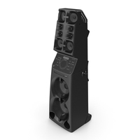 All in One High Power Audio System PNG & PSD Images