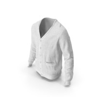 Mens Sweater White PNG & PSD Images