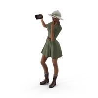 Light Skin Black Woman Explorer PNG & PSD Images