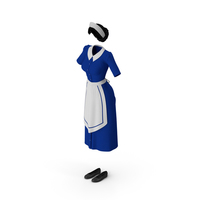 Maid Dress PNG & PSD Images