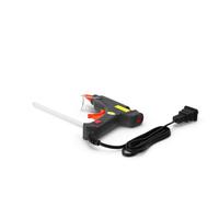 Mini Hot Melt Glue Gun Folded PNG & PSD Images