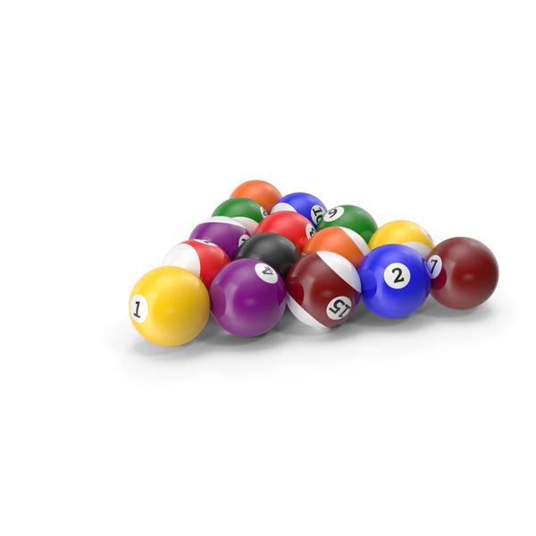 Billiard Balls PNG & PSD Images