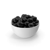 Bowl With Black Olives PNG & PSD Images