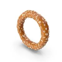 Mini Pretzel Ring With Sesame PNG & PSD Images
