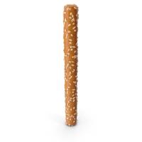 Mini Pretzel Stick with Sesame PNG & PSD Images