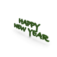 Tree Symbol Happy New Year PNG & PSD Images