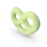 Key Lime Yogurt Covered Mini Pretzel PNG & PSD Images