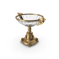 Golden Baroque Vase PNG & PSD Images