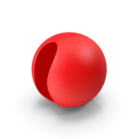 Red Clown Nose PNG & PSD Images