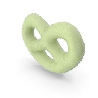 Key Lime Yogurt Covered Mini Pretzel with Sugar Coating PNG & PSD Images