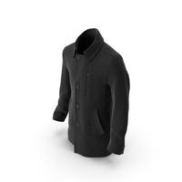 Mens Coat Black PNG & PSD Images
