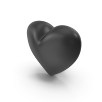 Black Heart PNG & PSD Images