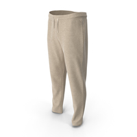 Mens Sport Pants Yellow PNG & PSD Images