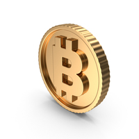 Bitcoin Symbol PNG & PSD Images