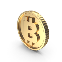 Bitcoin Gold Bright PNG & PSD Images