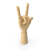 Wooden Hand Horns PNG & PSD Images