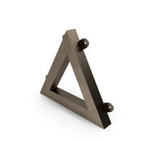 Wall Shelf Triangle Decoration PNG & PSD Images