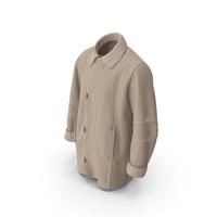 Men's Coat Beige PNG & PSD Images