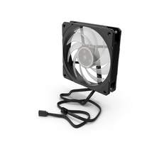 120mm Computer Fan PNG & PSD Images