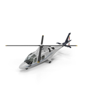 Agusta AW109S Grand Blue PNG & PSD Images