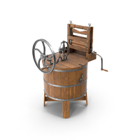 Antique Washing Machine PNG & PSD Images
