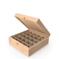 Wooden Storage Box PNG & PSD Images