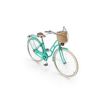 Woman's Bicycle PNG & PSD Images
