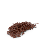 Pile of Chocolate Covered Rods PNG & PSD Images