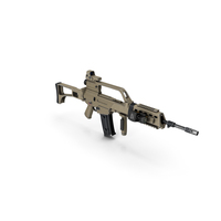 Rifle Modern Brown PNG & PSD Images
