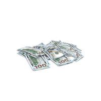 100 Dollars Pack PNG & PSD Images
