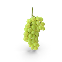 Cluster of Green Grapes PNG & PSD Images