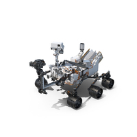 Curiosity Mars Rover PNG & PSD Images