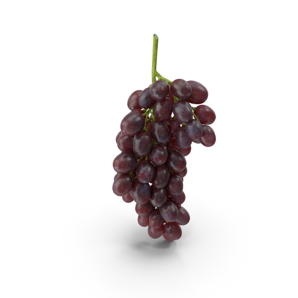 Cluster of Dark Grapes PNG & PSD Images