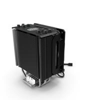 Cooler Master Hyper 212 RGB Black Edition CPU Cooler PNG & PSD Images