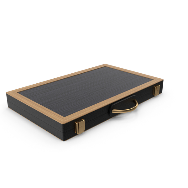 Folded Backgammon Board Game Case PNG & PSD Images