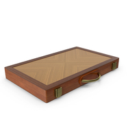 Folded Backgammon Case PNG & PSD Images