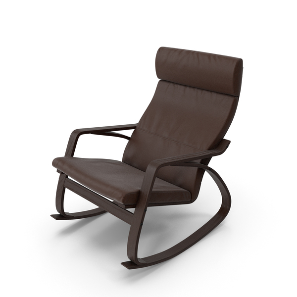 Genuine Leather Rocking Chair PNG & PSD Images
