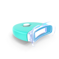 Household LED Teeth Whitening Lamp ON PNG & PSD Images