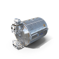 ISS Module Columbus Science Laboratory PNG & PSD Images