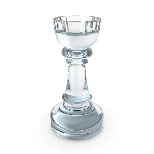 Chess Rook Glass PNG & PSD Images