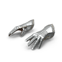 Medieval Knight Plate Armor Gauntlets PNG & PSD Images