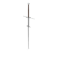 Medieval Zweihander Two-Handed Sword PNG & PSD Images