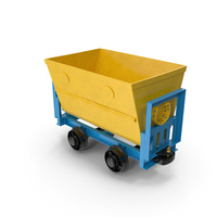 Mine Wagon PNG & PSD Images