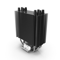 Passive CPU Cooler PNG & PSD Images