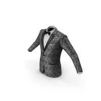 Patterned Tuxedo Jacket PNG & PSD Images