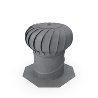 Roof Turbine Vent PNG & PSD Images