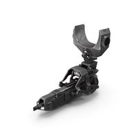 Sci-Fi Harpoon Gun PNG & PSD Images