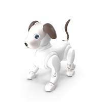 Sony Aibo 2017 Robotic Pet PNG & PSD Images